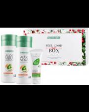 Zestaw Świąteczny Feel Good Box Aloe Vera Peach + Krem z propolisem