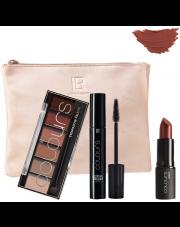 Zestaw Glamorous Bronze Look z kosmetyczką