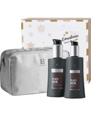 Zeitgard Platinum Świąteczny ZESTAW kosmetyków dla mężczyzn z kosmetyczką
