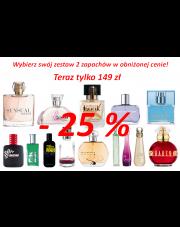 Dowolny Zestaw 2 flakonów Eau de Parfum