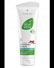 Aloe Vera Łagodny żel pod prysznic ułatwiający golenie