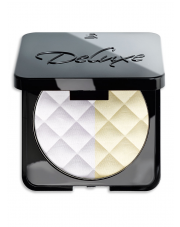 Puder dwa kolory DELUXE