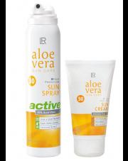Zestaw 4 Aloe Vera Sun Wysoki faktor