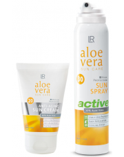 Zestaw 2 Aloe Vera Sun Anti age