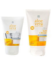 Zestaw 3 Aloe Vera Sun Anti age wysoki faktor