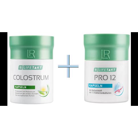 37a96f9f3eabd6 Na wzmocnienie odporności ZESTAW Colostrum Compact + Probiotyk