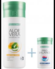 Na oczyszczenie Aloe Vera Żel do picia z miodem + Probalance