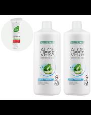 Zestaw Świąteczny Aloe Vera Żel do picia Freedom + nawilżający koncentrat Aloe Vera