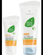 Aloe Vera Sun Zestaw do opalania Anti-age filtr SPF 20