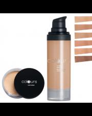 Zestaw do makijażu Colours do cery tłustej i mieszanej