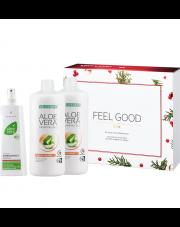 Zestaw Świąteczny Aloe Vera Żel do picia o smaku brzoskwiniowym + Aloe Vera Emergency Spray