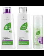 Aloe Vera Zestaw oczyszczanie twarzy