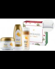 Zestaw do pielęgnacji ciała Milk & Honey z poduszką do wanny