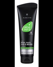 Aloe Vera 4in1 Szampon do ciała, twarzy, włosów i brody