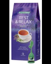 LR LIFETAKT Rest & Relax Herbata ziołowa z zaparzaczem
