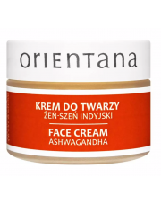 Orientana Naturalny krem do twarzy ŻEŃ-SZEŃ INDYJSKI (ASHWAGANDHA)